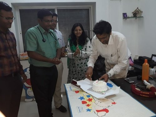 Cake Cutting|ADITYA RAINBOW HOSPITAL|Sangli Miraj Road,Sangli