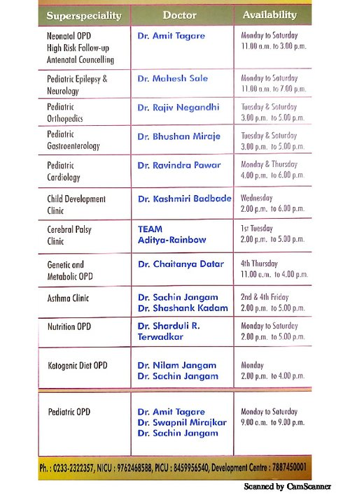 Inauguration Invite Aditva- Rainbow Superspeciality Children's Hospital|ADITYA RAINBOW HOSPITAL|Sangli Miraj Road,Sangli