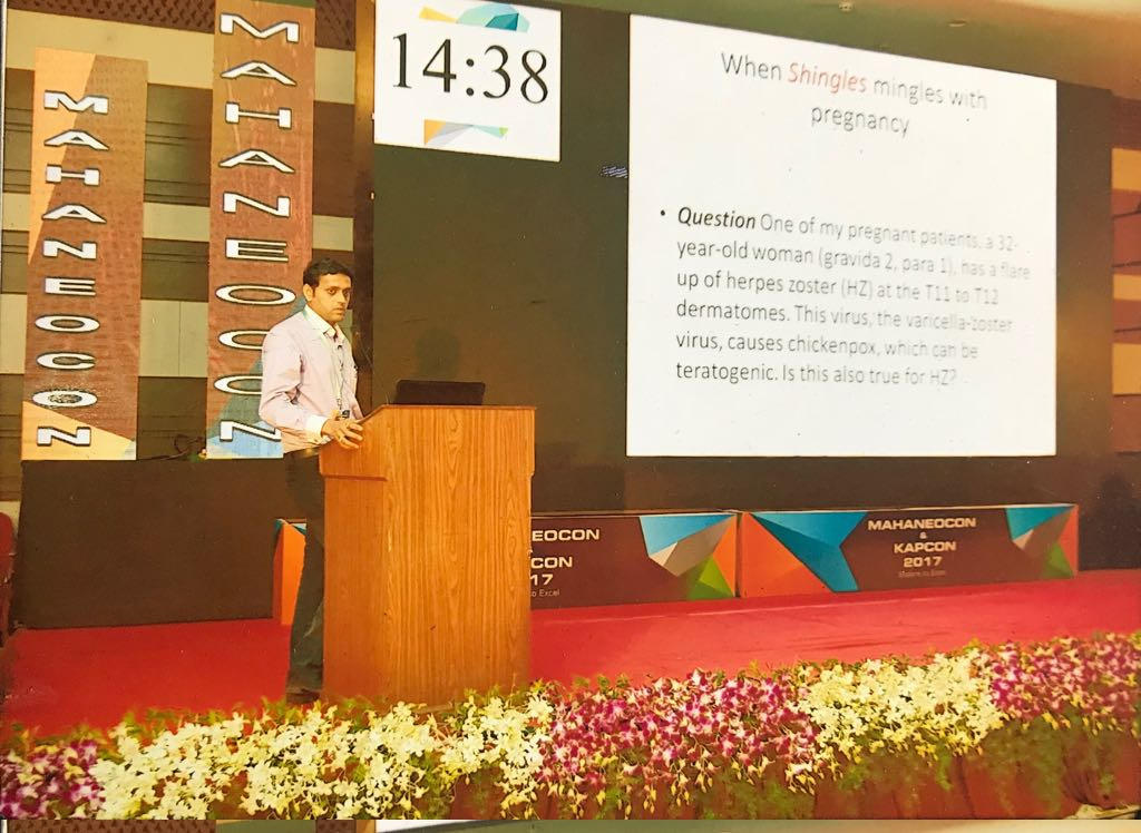 Dr. Tagare delivered lecture at Maharashtra State Neonatology conference, MahaNeocon in October 2017|ADITYA RAINBOW HOSPITAL|Sangli Miraj Road,Sangli